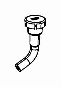 Dodge Durango Differential Vent Hose  4wd  W  O Electronic