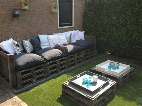 canapé avec palette bois 15 idées pour fabriquer salon de jardin en palettes
