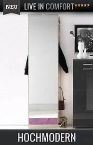 Garderobenpaneel Mit Spiegel : neu moderne garderobe mit spiegel eiche sonoma wandgarderobe garderobenpaneel ebay ~ Markanthonyermac.com Haus und Dekorationen