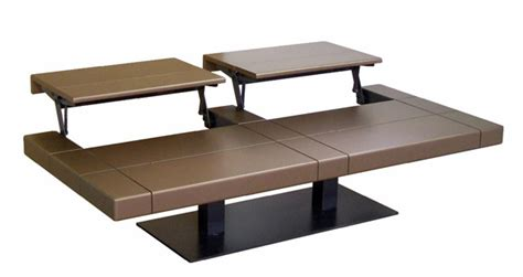 Convertible coffee table to dining visual hunt adjustable height. Roche Bobois convertible coffee table | Modern patio furniture, Coffee table, Outdoor wicker ...