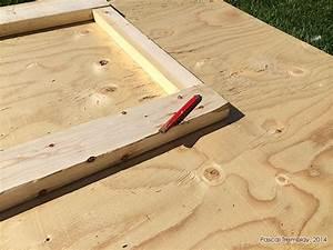 porte remise fabriquer une porte de cabanon en bois pas cher With faire une porte en bois