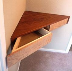 floating corner shelves love  corner pull  drawer