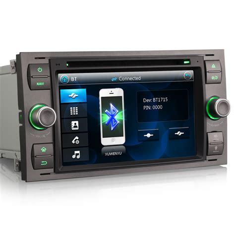direct fit unit gps radio sat nav dvd bluetooth stereo for ford transit mk7 ebay