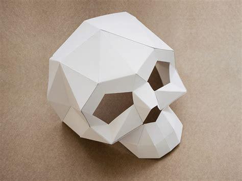 papier wasserfest machen totenkopfmaske aus papier machen