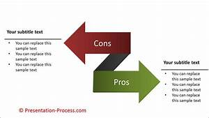 How To Create Pros And Cons With Arrows  Powerpoint Diagram Series