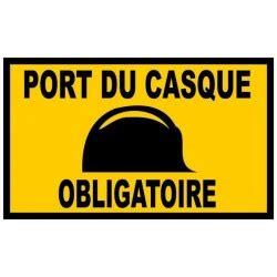 port du casque obligatoire panneau permis de d 233 molir 800 x 800 equipement chantier