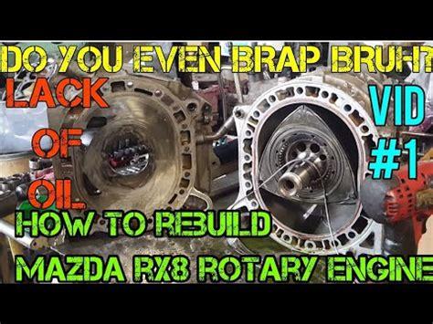 rebuild  rotary mazda rx engine youtube