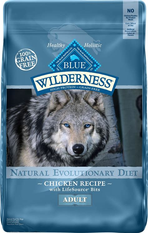blue buffalo wilderness chicken recipe grain  dry dog