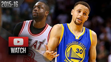 Dwyane Wade vs Stephen Curry