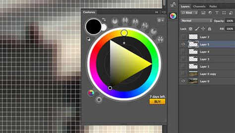 photoshop add a color wheel panel photoshop family