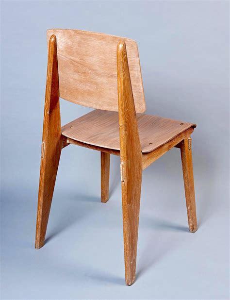 jean prouvé chaise quot chaise en bois quot by jean prouvé at 1stdibs