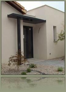 Porche Entrée Maison : porche entree maison contemporaine menuiserie ~ Premium-room.com Idées de Décoration