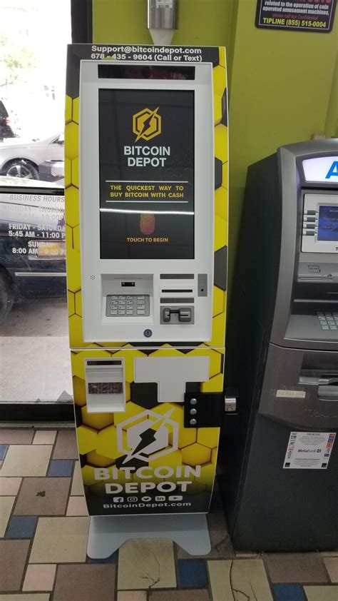 If you are looking for the exact area: Crypto ATMs Near You - Bitcoin Depot
