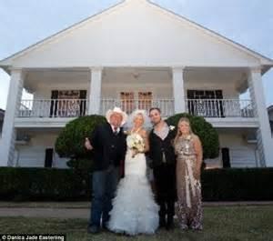 southfork ranch wedding charlene tilton throws wedding for cherish daily mail