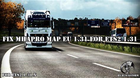 fix mhapro map eu   ets   allmodsnet