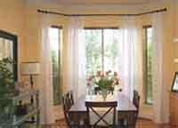 bay window cutain designs
