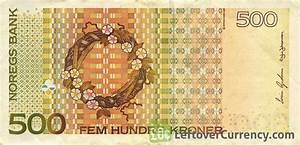 500 Norwegian Kroner (Sigrid Undset) - Exchange yours for cash