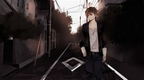 Anime Cool Boy Wallpaper - anime boys wallpapers wallpaper cave