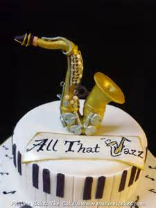 piano cake topper pauline bakes the cake saxophone for a jazz lover