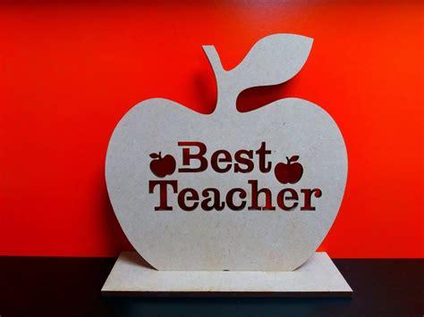 teacher cut  apple  stand cm  cm