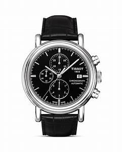 Tissot Carson Men U0026 39 S Black Automatic Chronograph Classic