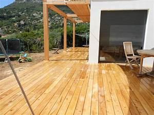 Pergola En Bambou : pose terrasse bois nice 06 ~ Premium-room.com Idées de Décoration