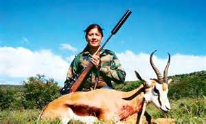 minister   fire  south africa hunting trip
