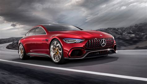 Mercedes-amg Gt Concept Confirmed, Expect A 2018 Debut