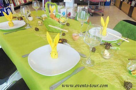 decoration de table pour la fete de paques