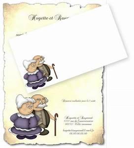 Faire Part Anniversaire 60 Ans : faire part anniversaire de mariage ~ Melissatoandfro.com Idées de Décoration