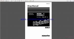 Auto Repair Manuals  Komatsu Pc200