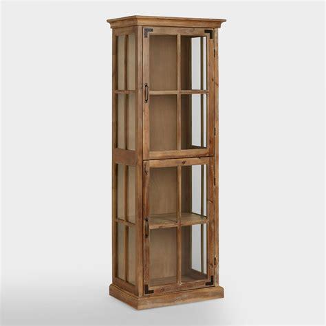 curio hutch curio cabinet world market