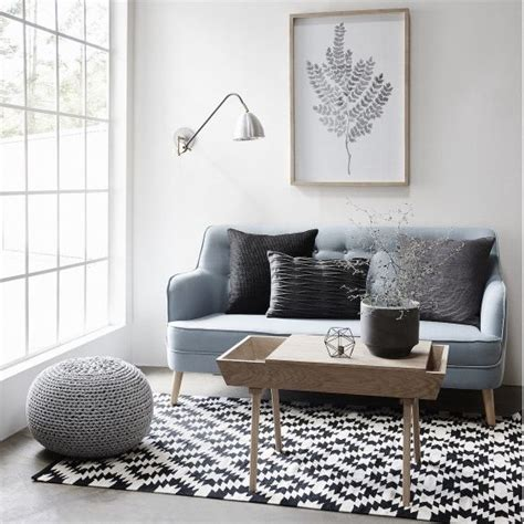 le tapis scandinave  idees partout dans la maison