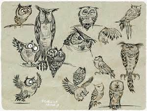 Pinterest Owl Drawing Cartoon