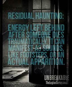 Check out this ... Haunted Places Quotes
