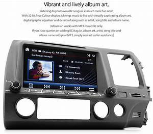 Car Dvd Player For Honda Civic Fd1 Fd2 Stereo Usb Mp3
