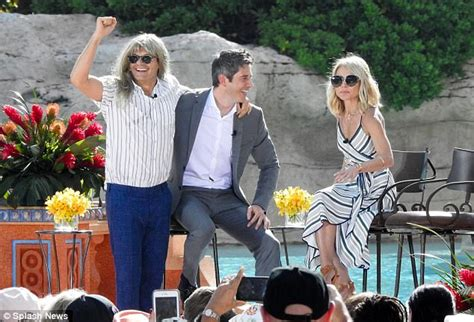 Kelly Ripa and Ryan Seacrest shoot Live from the Bahamas