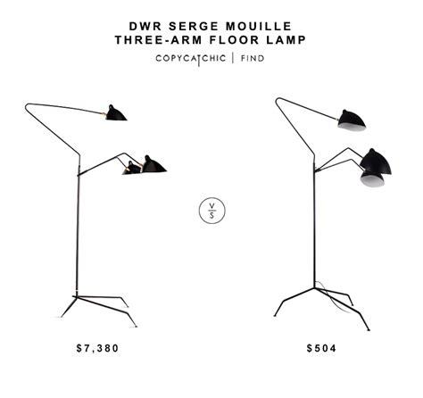 dwr serge mouille three arm floor l copycatchic lights and ls