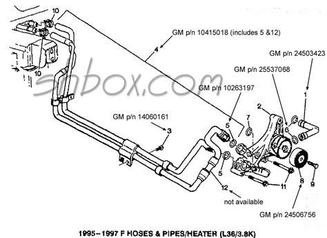 1999 Suburban Heater Hose Diagram 46 1999 suburban heater hose diagram 1999 suburban 1500