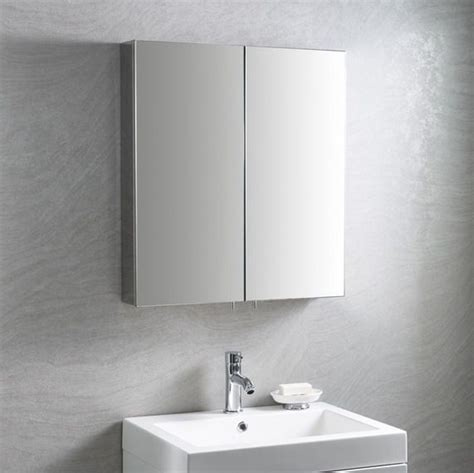 Mirrored Bathroom Cabinets by Maxi Mirrored Cabinet 600 X 670mm Larkin Mirror