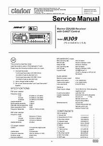 Clarion Ph3082ha Ph3083ha Service Manual Free Download