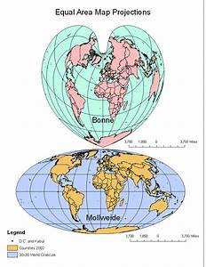 Introduction To Gis  Lab 3  Exploring Map Projections