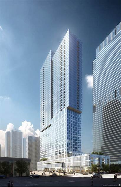 Tower Rendering Bkl Chicago Lakeshore East Architecture