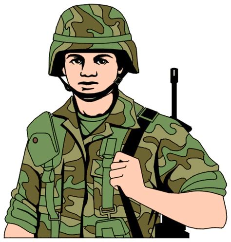 Army Clipart Clip With Eagle Flag Etc Clipart Panda
