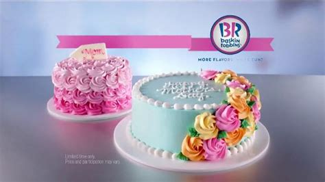 baskin robbins mothers day cakes tv commercial endless