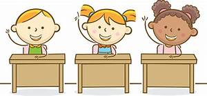 child raising hand in class clipart - Clipground