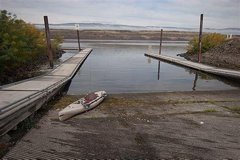 Columbia River Boat Launches by Kayak Fishing Season