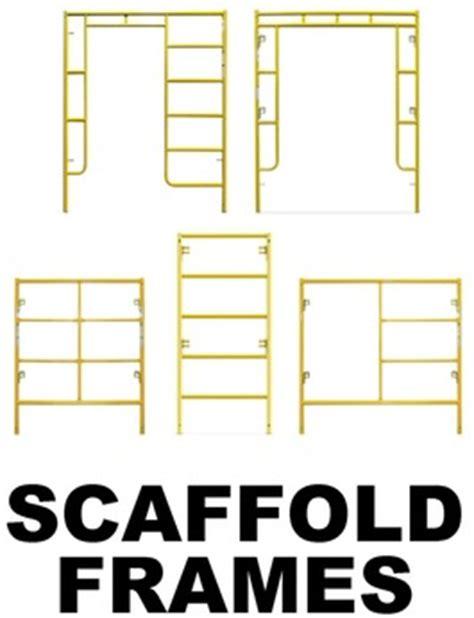 steel scaffolding end frames bird ladder