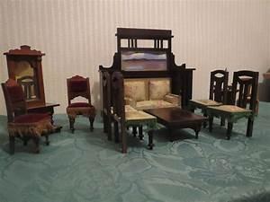 Antike Stühle Jugendstil : antike m bel f puppenstube puppenhaus um 1900 sofa ~ Michelbontemps.com Haus und Dekorationen