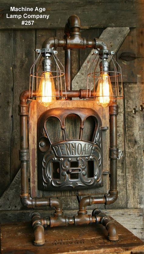 Best Images About Steampunk Lighting Machine Age